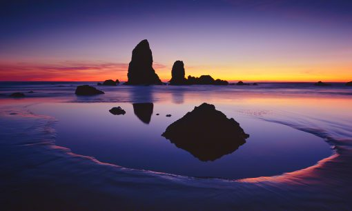 cannon beach,oregon coast,tide pool,the needles