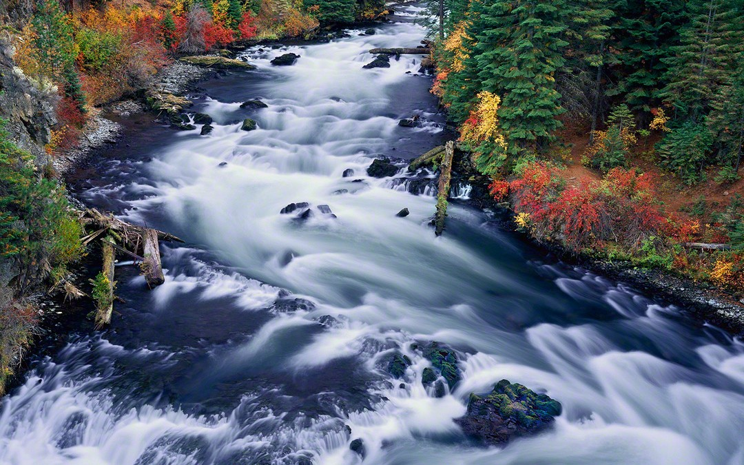 """Autumn Flow"", Deschutes River"