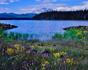 Elk Lake, cascade lakes highway,south sister,bend oregon lakes