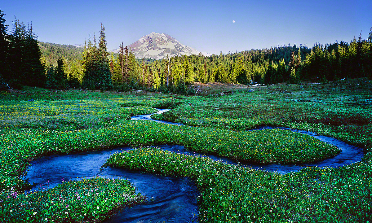"""Serpentine Stream"", Three Sisters Wilderness"