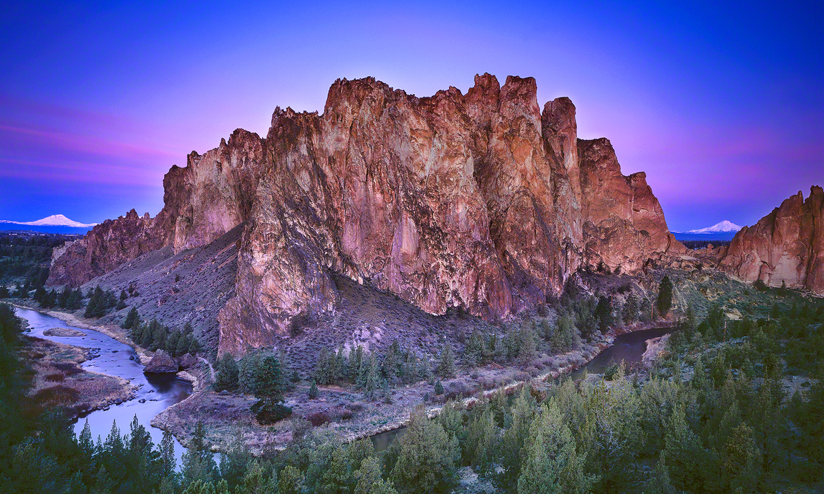 """Smith Rock Sunrise"", Terrebonne, Oregon"