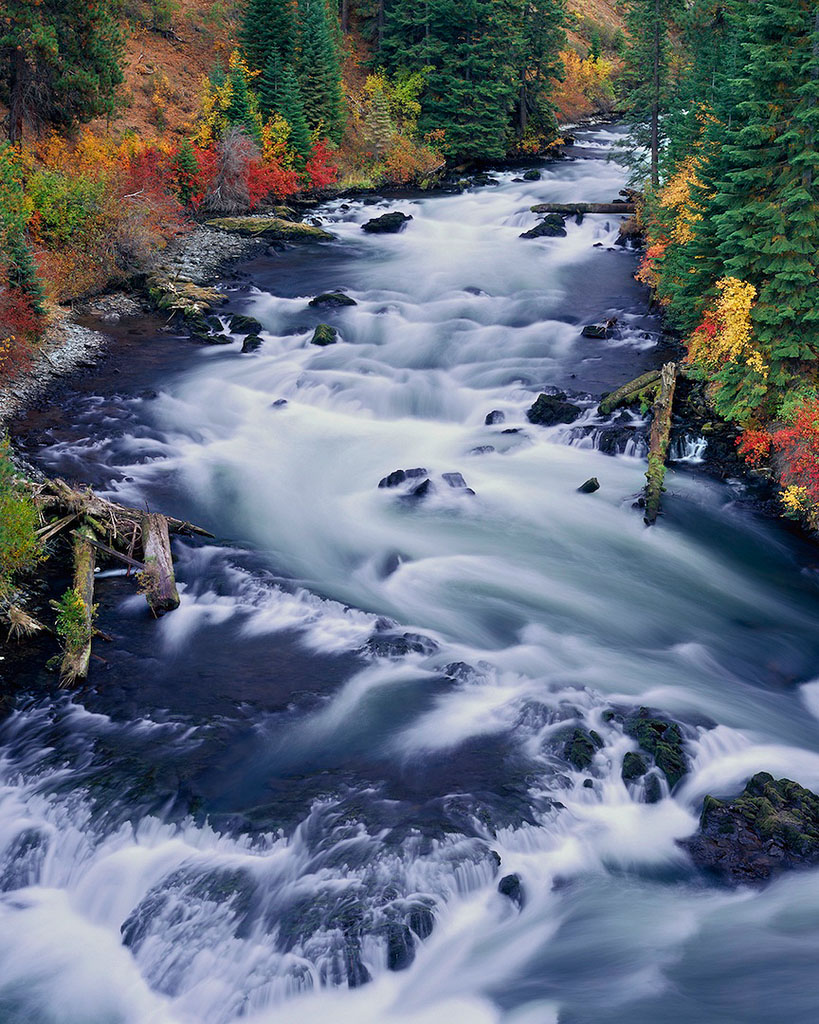 """Deschutes River In Autumn"""