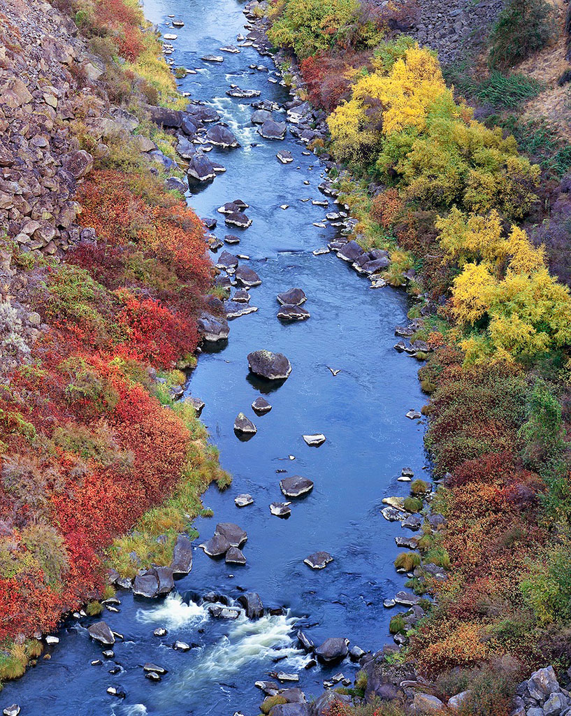 """Crooked River in Autumn"""