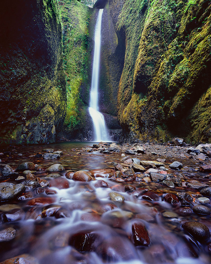 """Oneonta Falls"", Columbia River Gorge"