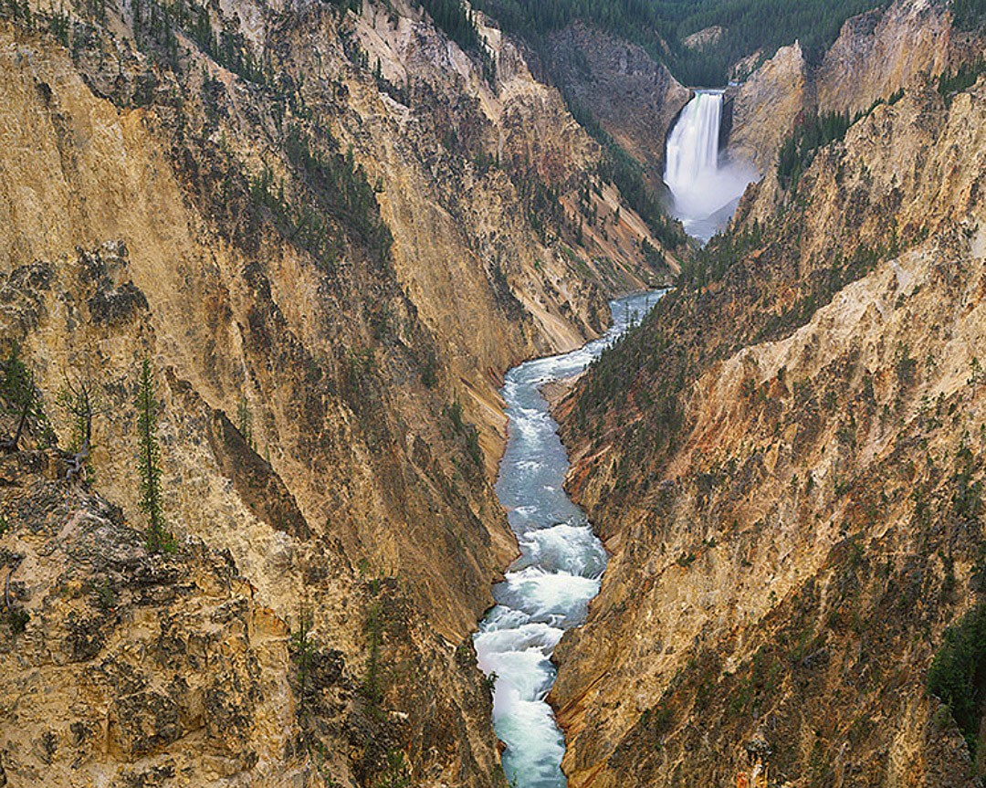 """""""Grand Canyon of the Yellowstone River"""""""