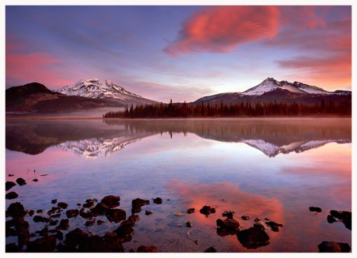 Sparks Lake Greeting Card