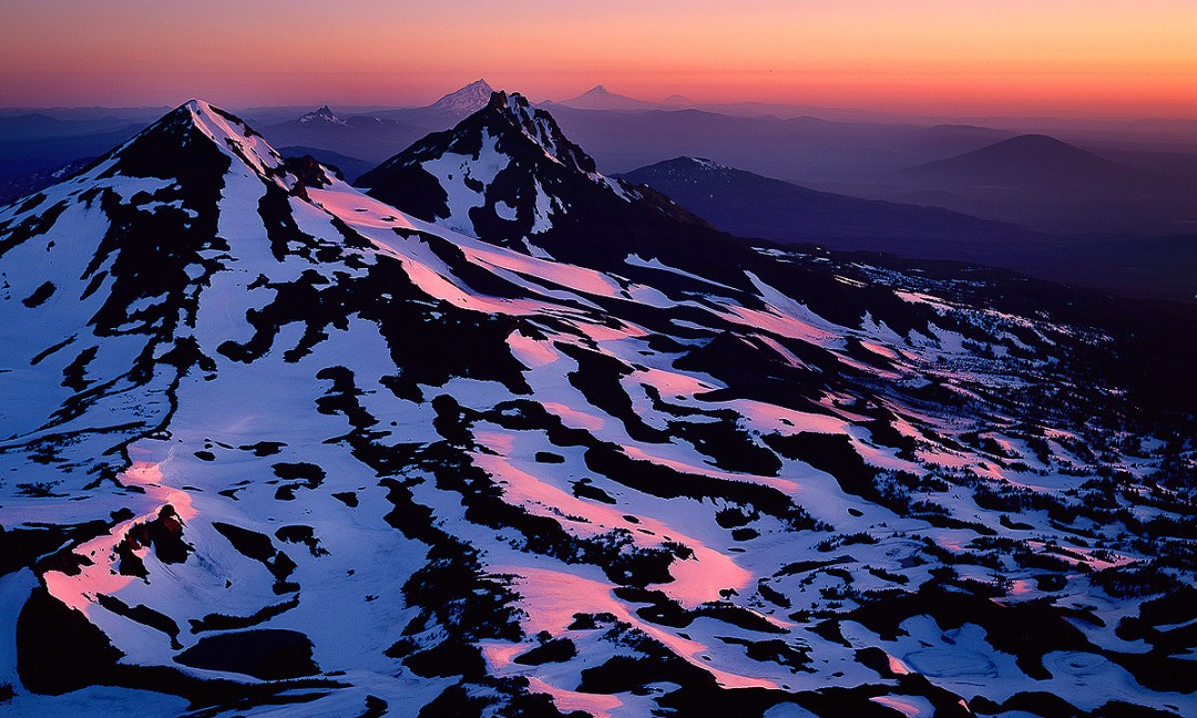 "Three Sisters Wilderness, ""Summit Sunrise"""