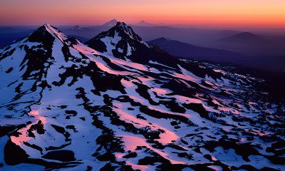 Three Sisters wilderness Area, summit sunrise