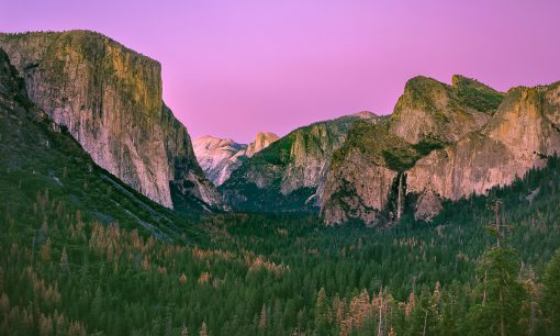 Yosemite National Park, Tunnel View, Yosemite National Park fine art photograph