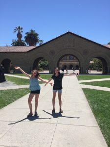 Emma and Zoe, Stanford University