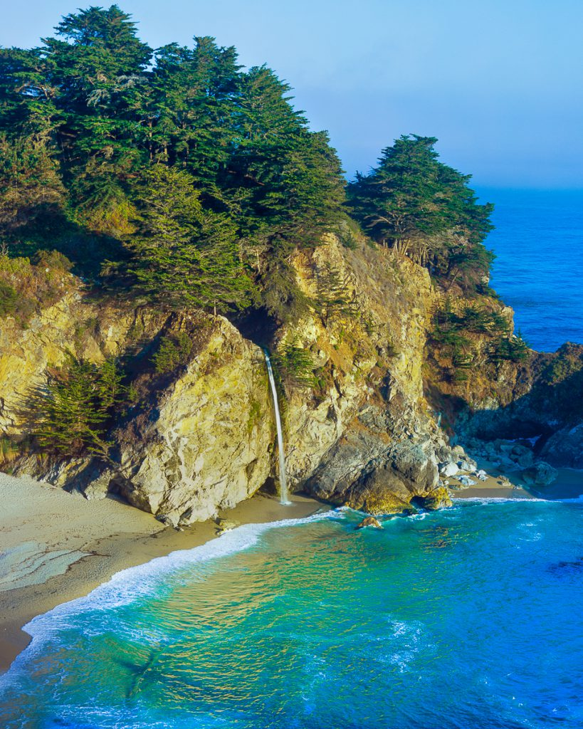 McWay Falls and Julia Pfeiffer State, Big Sur