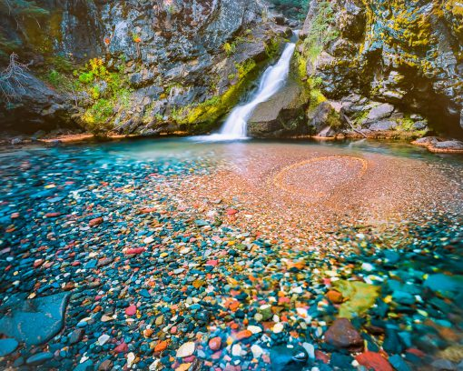 Polychrome Pool, Three Sisters Wilderness