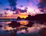 Oregon Coast Sunset photo,pic,print,image