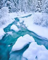 Tumalo Creek in Winter shevlin park bend oregon winter