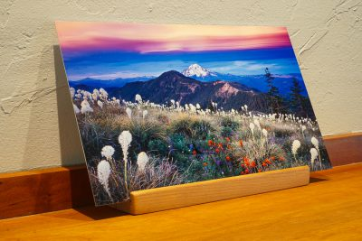 Oregon desk top print Mt Jefferson