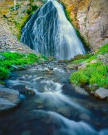 Resurrection Falls Canyon, three Sisters Wilderness, Bend Oregon