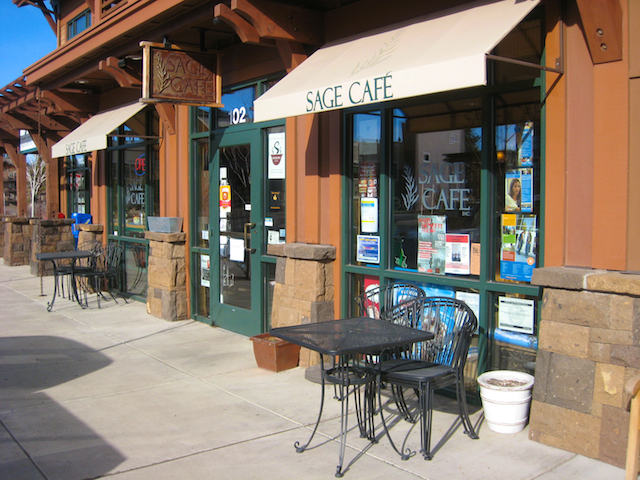 Sage Cafe at Bend's Northwest Crossing, My newest Art Gallery!
