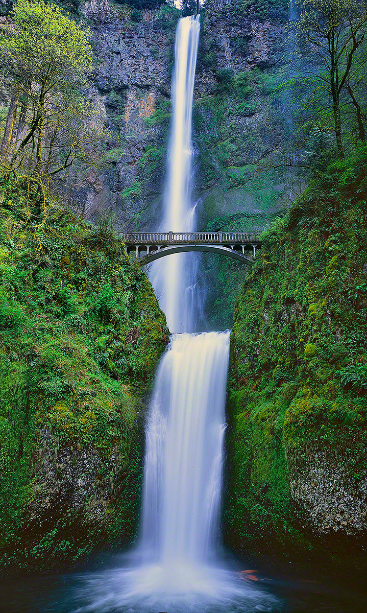 """Multnomah Falls"", Columbia River Gorge"