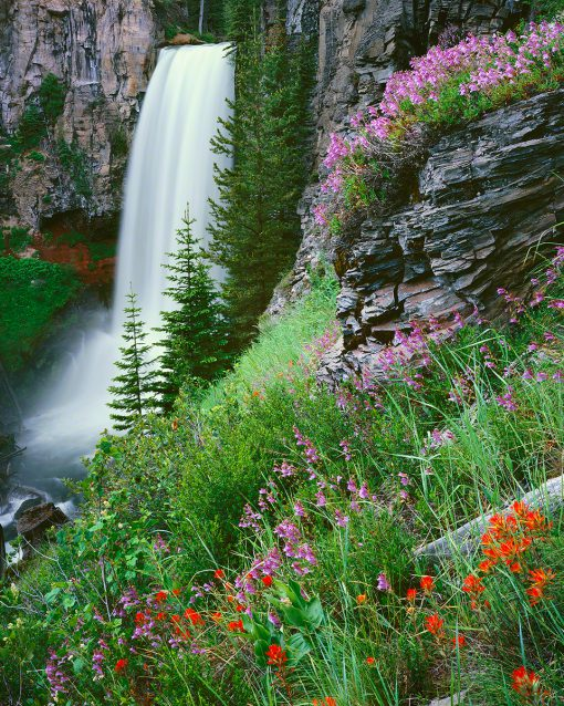 Tumalo Falls, Bend, Oregon.