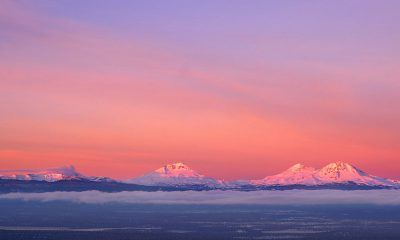 Three Sisters Alpenglow