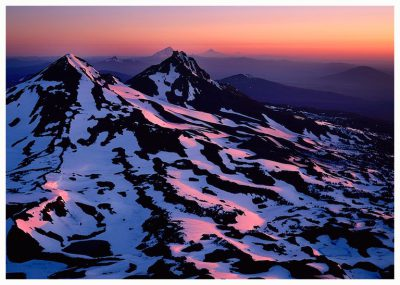 Summit Sunrise Greeting Card