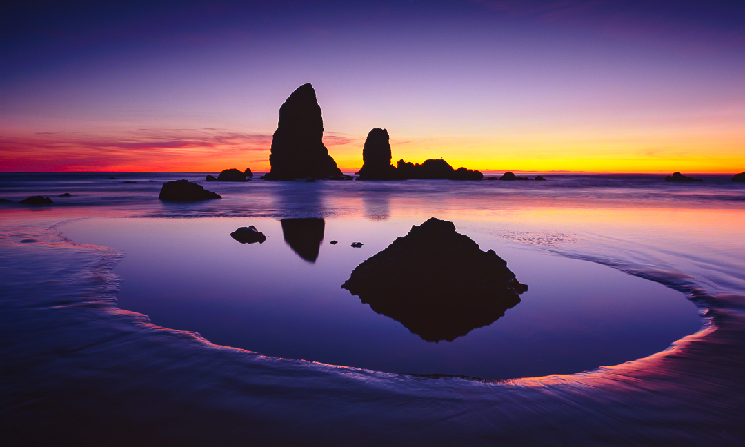 Cannon Beach Landscape Photograph, Oregon Coast