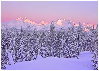 Oregon Cascades Greeting Cards