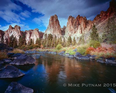 Central Oregon's Beautiful Smith Rock State Park.