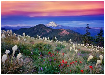 Mt. Jefferson Greeting Card, Oregon