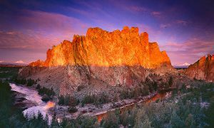 Sunrise on Oregon's Smith Rock State Park. smith rock photo