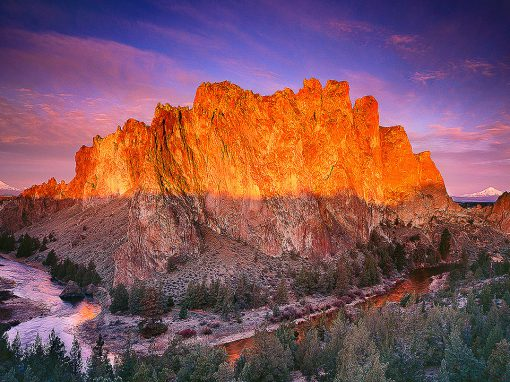 "Smith Rock photo, ""Morning Glory"""