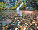 Polychrome Pool, Three Sisters Wilderness Area, Oregon