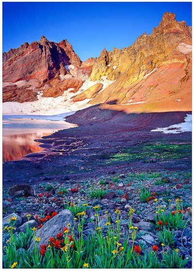 Oregon greeting card, Broken Top Trail