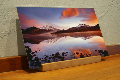 Sparks Lake Desk Top Print, Oregon gifts
