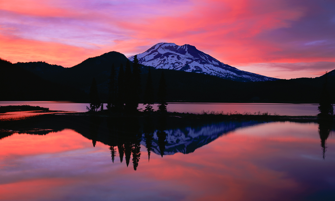 sparks lake splendor, cascade lakes highway, central oregon landscape photography