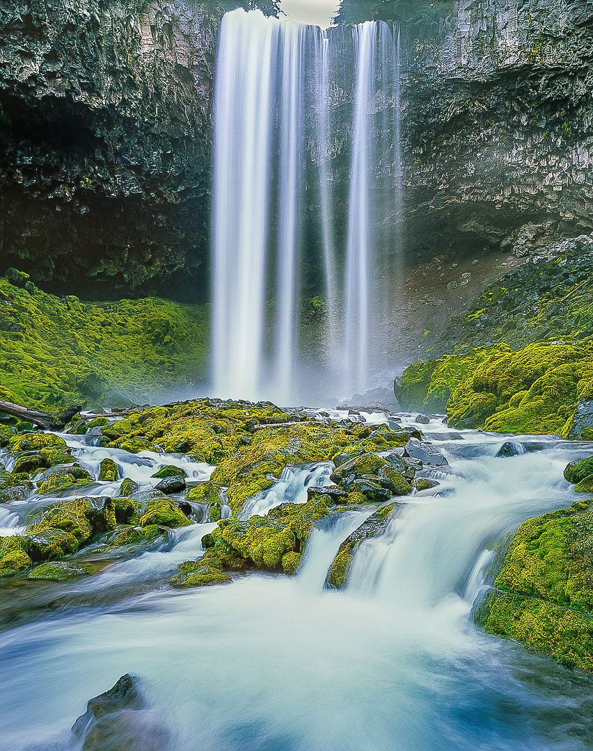 Tamanawas Falls, Mt. Hood National Forest