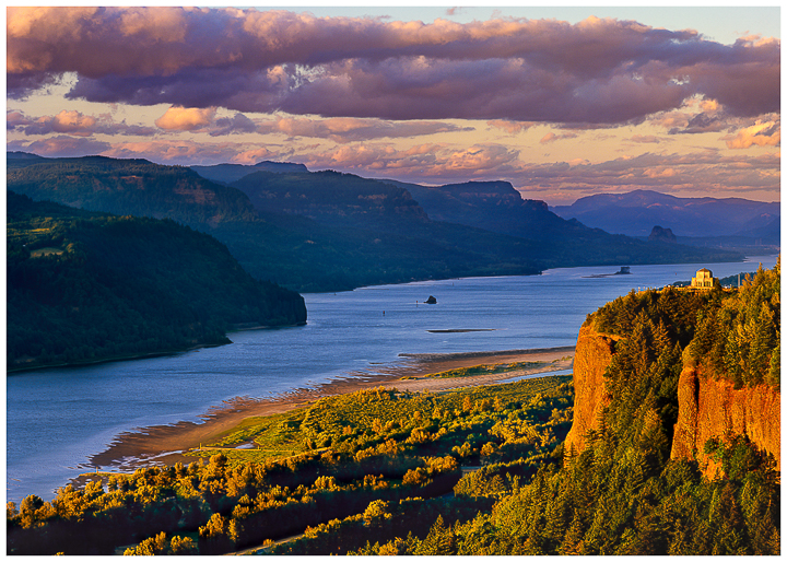 Columbia River Gorge Greeting Card, Note Card, Oregon greeting cards