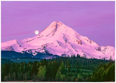 Mt. Hood Greeting Card, Note Card, Oregon Greeting Cards