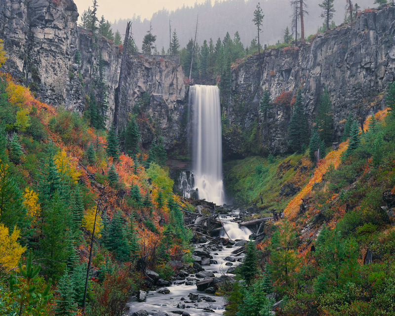 Picture of Tumalo Falls near Bend, Oregon