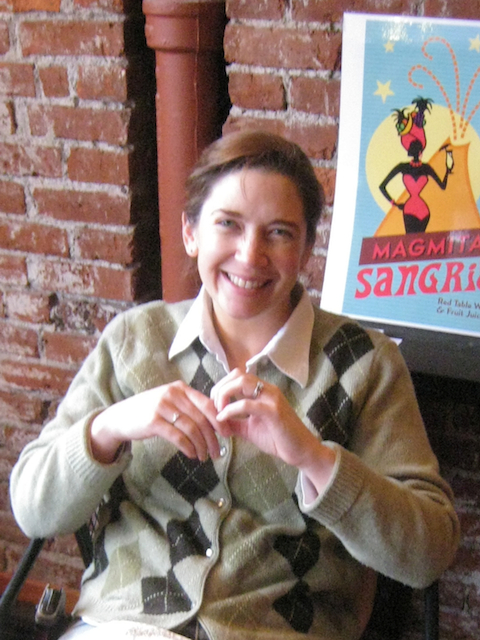 Liz Ratcliff of Volcano Vineyards fame!