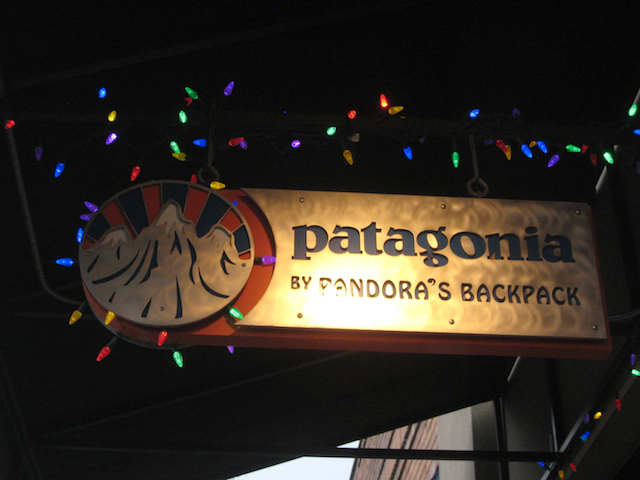 Patagonia by Pandora's Backpack located at 920 NW Bond St. in Bend, Or