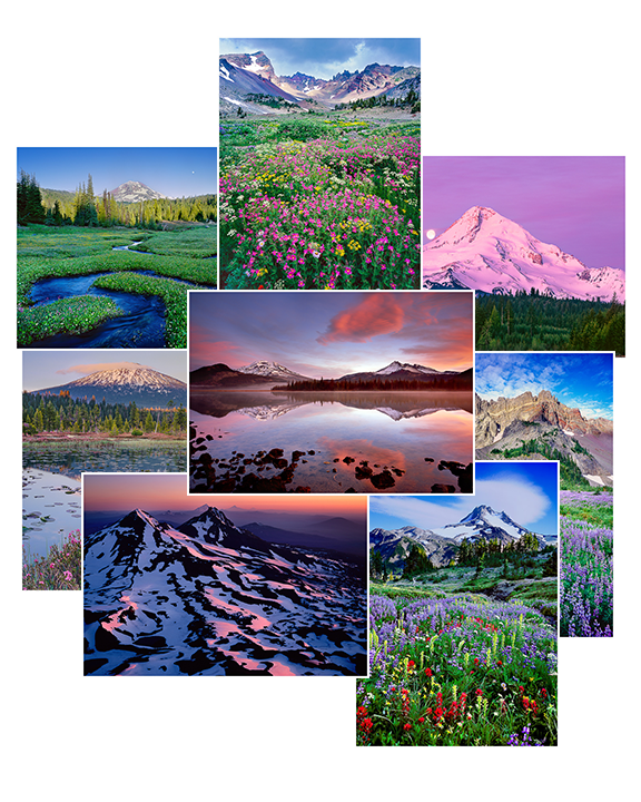 Oregon Mountain Greeting Cards