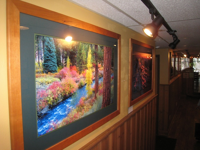 Artist Hallway at the Bend Brewing Company
