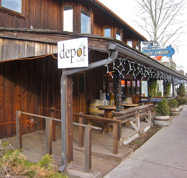 Depot Cafe, Sisters Oregon