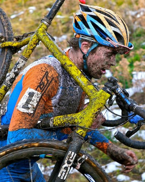 Cyclocross racer, Danny Summerhill
