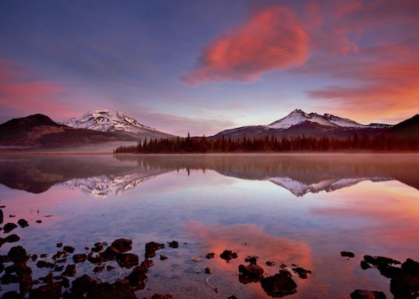 Bend Oregon's Sparks Lake