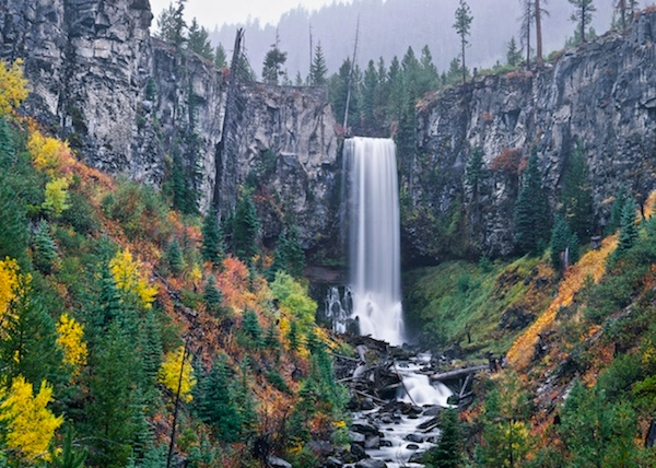 Bend, Oregon's Tumalo Falls Greeting/Note Card