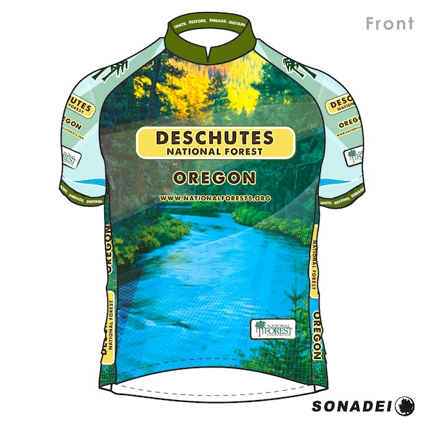 Deschutes National Forest Jersey