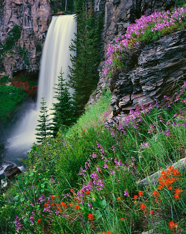 Tumalo Falls, near Bend, Oregon