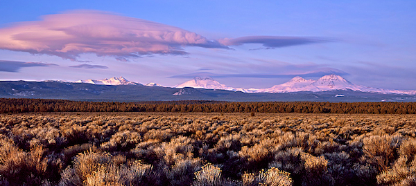 Three Sisters Mountains, Central Oregon